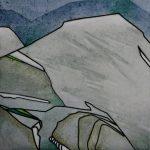 "Bald Mountain | 8""x8"" | SOLD"